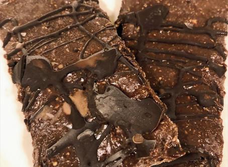 No Bake Dark Chocolate Protein Bar