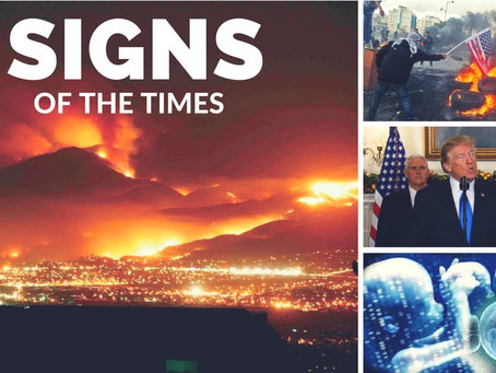 The Outpouring of End-Times Signs