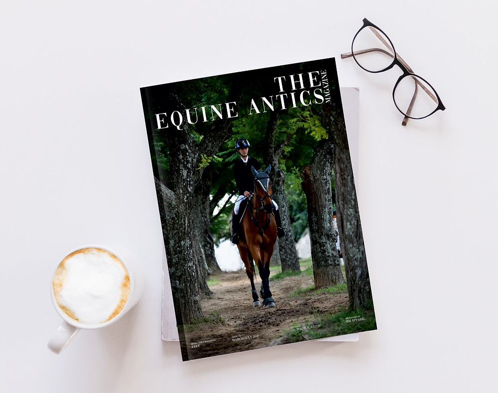 Equestrian Magazine for horse lovers proudly sponsored by MM Apparel Equestrian