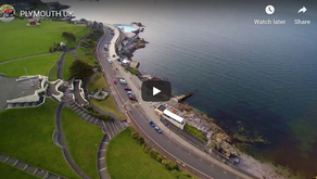 Stunning aerial videos of Plymouth