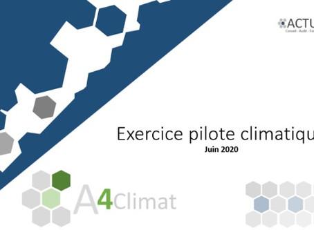 Exercice pilote climatique: Top départ