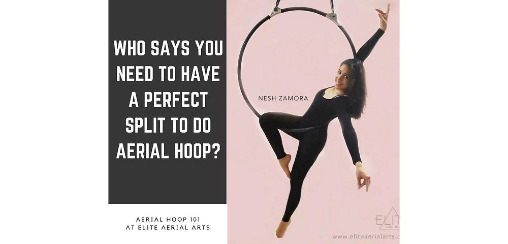 Aerial Hoop at Elite Aerial Arts with Nesh Zamora