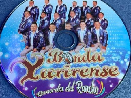 Banda Yurirense estrena producción discográfica