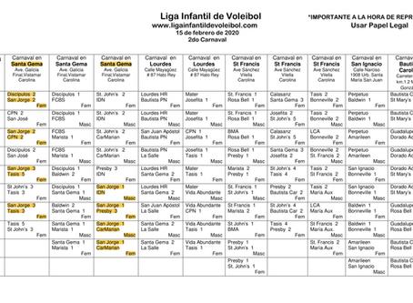 Anuncios Depto. Atlético (10-15 febrero)