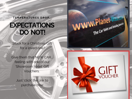 Christmas Gift Vouchers Available.