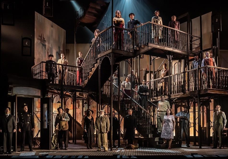 Opera North's production of Kurt Weill's Street Scene. All pics: Clive Barda