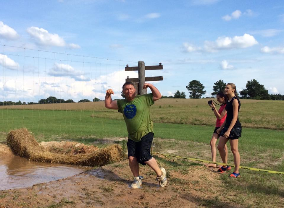 A fun way to connect with your kids is by participating in a mud run or 5k