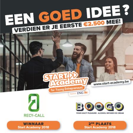 Werk je idee uit onder begeleiding van Start Academy