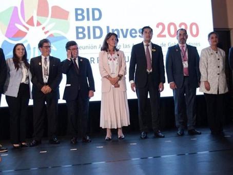 Barranquilla oficialmente es sede de la Asamblea BID 2020
