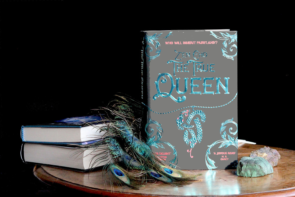 Photo of the book, The True Queen