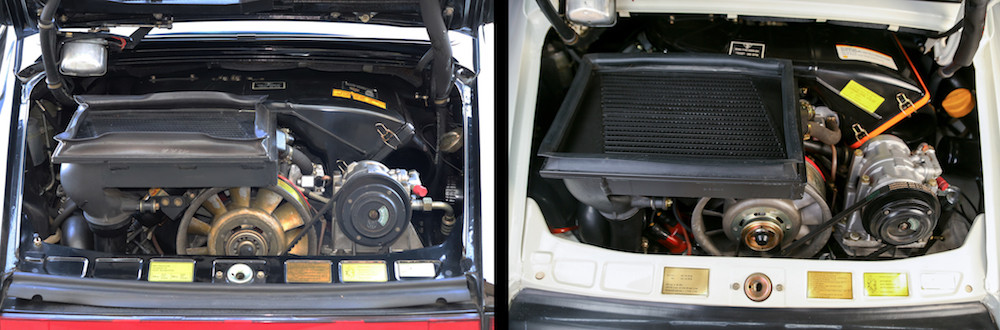 Porsche 930 Turbo Engines