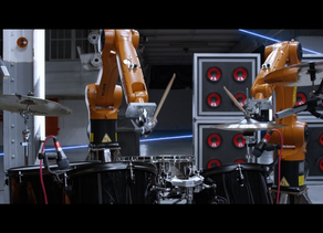 This Incredibly Cool Music Video Features Real-Life Robots As Band Members
