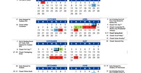 2019-2020 Approved School Calendar