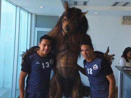 Lobos BUAB presentó a su nueva mascota y parece real