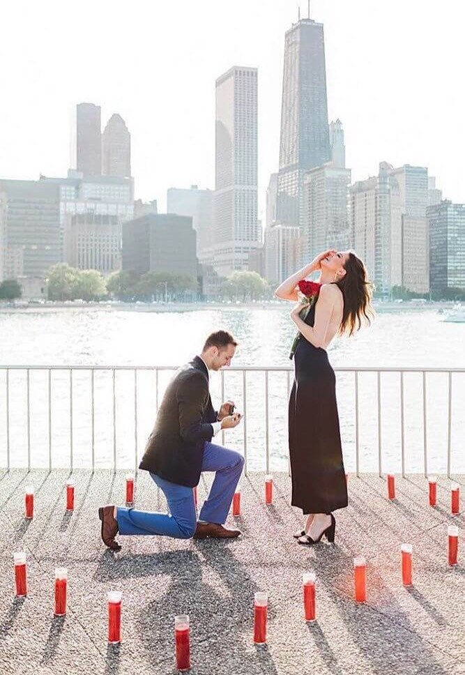 Proposal idea which has memorable significance.