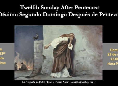 Sunday Service (Spanish) August 23, 2020