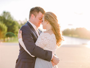 RENEE + JUSTIN | DC SUNRISE | Engagement
