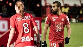 Naïm Sliti et Léa Declercq, joueurs du mois de janvier !
