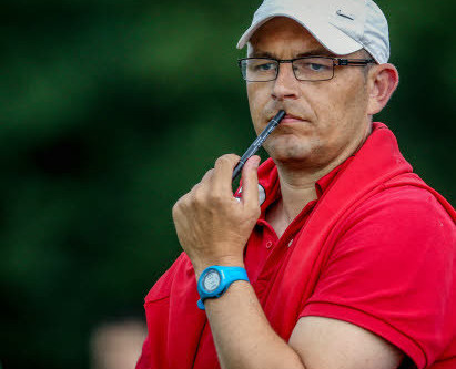 Le coach avant le match de Locminé