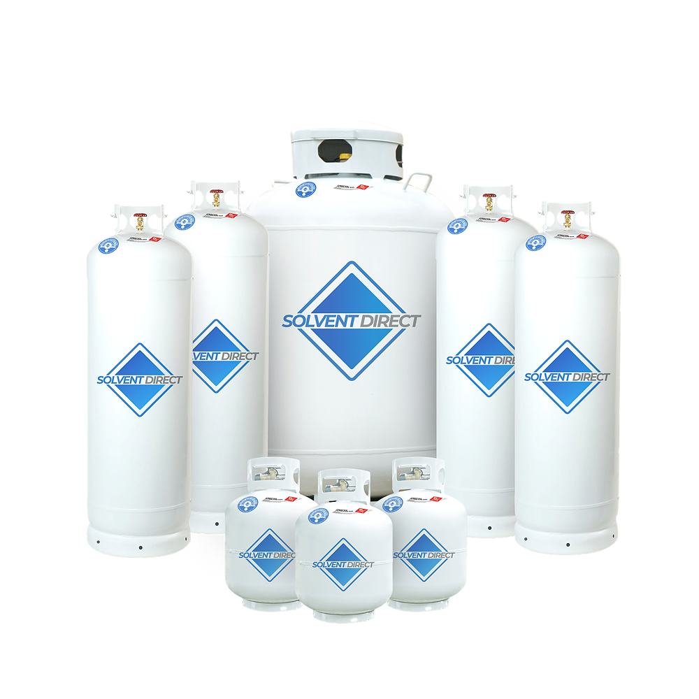 Solvent Direct Gas tanks