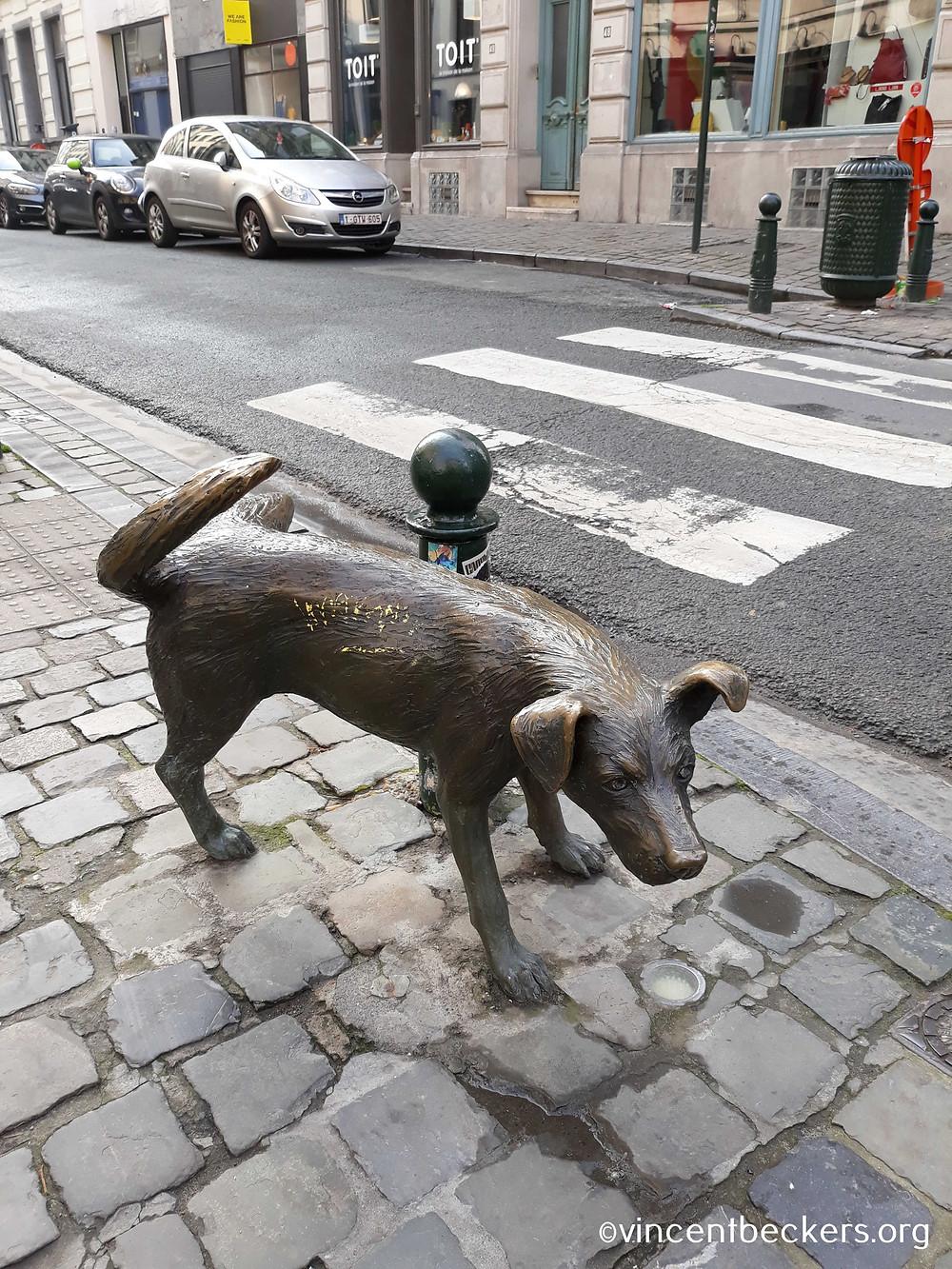 zinneke pis, Vincent Beckers, visite guidée Bruxelles