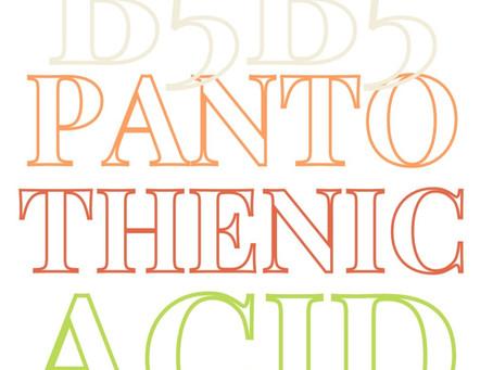 Vitamin B5 (Pantothenic Acid)
