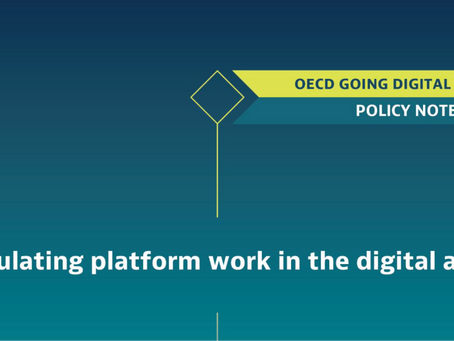 Regulating platform work in the digital age
