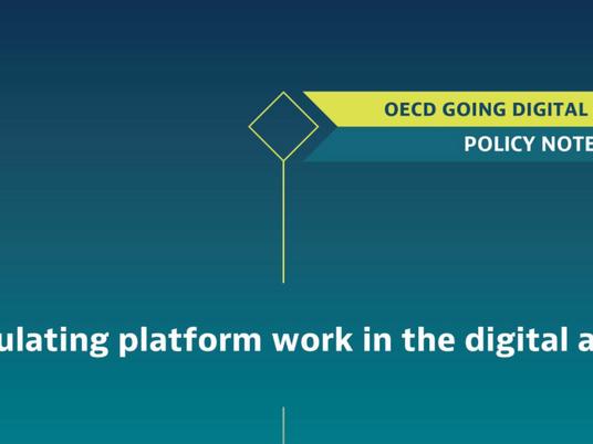 Regulating platform work in the digital age