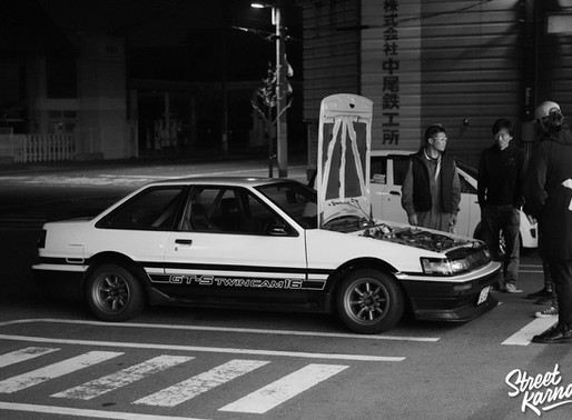 Sato-san's AE86