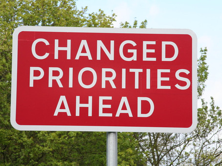 Ministers Monday Moment - Priorities