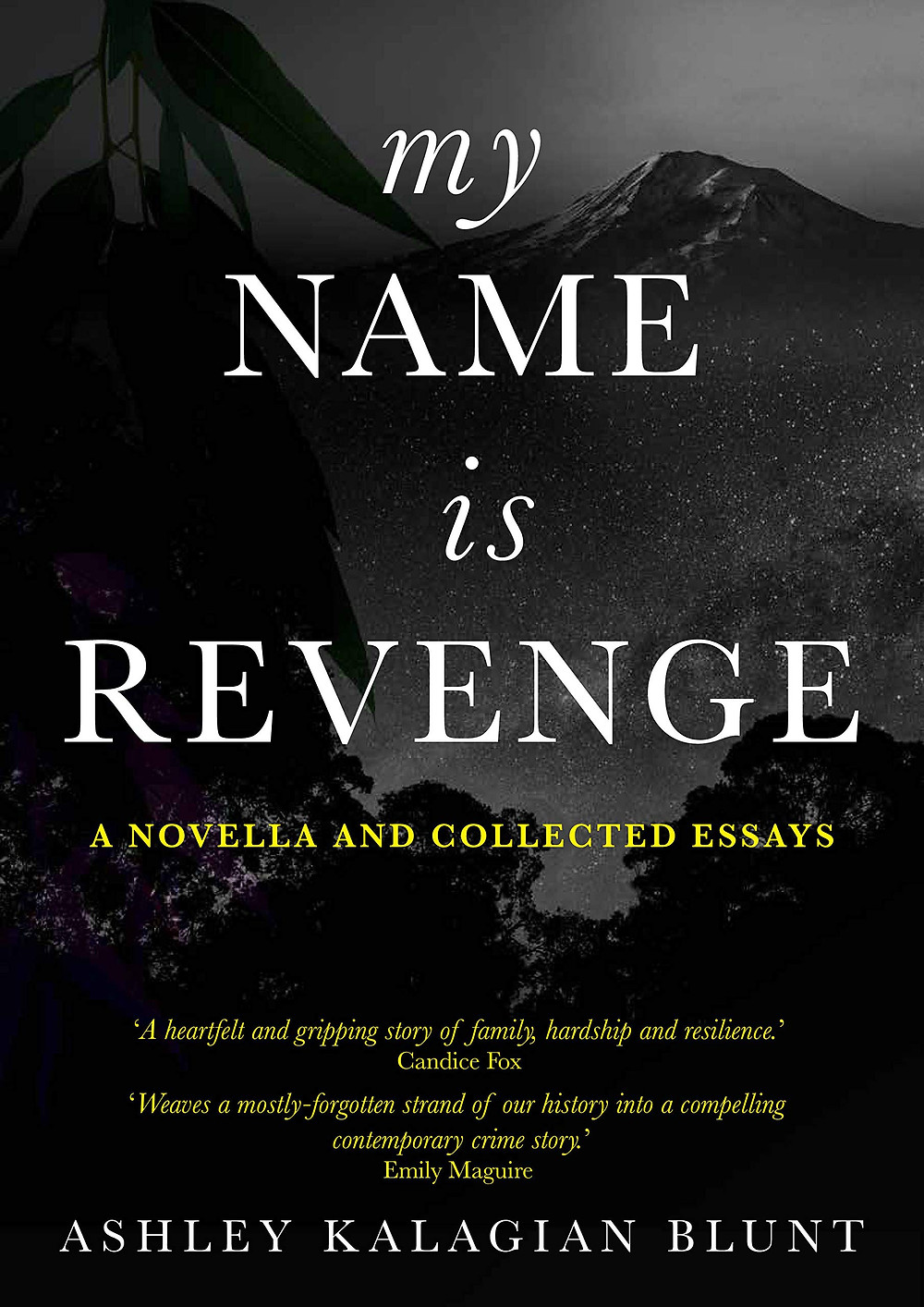 My Name Is Revenge: A Novella and Reflective Essay By Ashley Kalagian Blunt