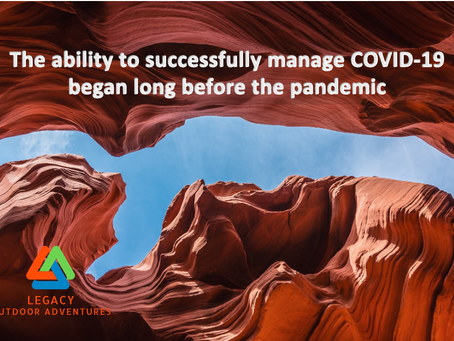 The ability to successfully manage COVID-19 began long before the pandemic...