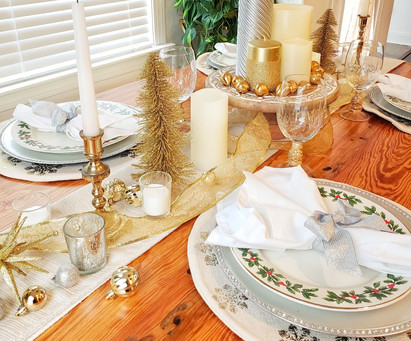 Festive Holiday Tablescapes