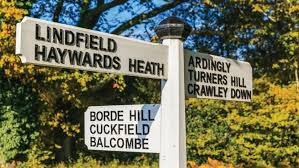 The origin of place names - Cuckfield and Lindfield