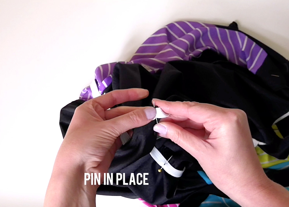 How to sew an elastic waistband