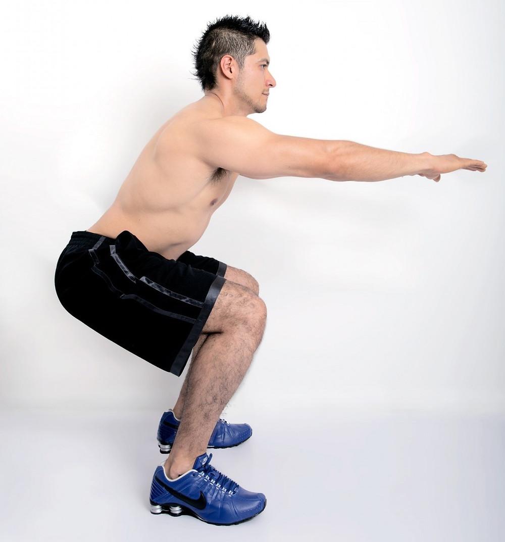 Leg exercises.