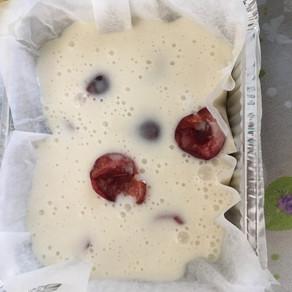 Procedimento delle mini-cake alle ciliegie s.g.