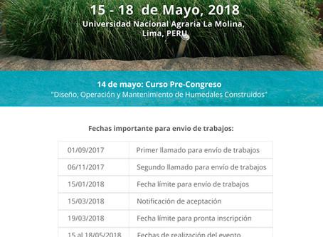 Congrés Panamericà Aiguamolls de Tractament
