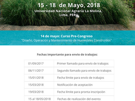 Pan-American Congress on Treatment Wetlands