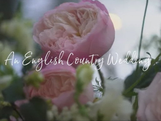 WATCH: An English Country Wedding by David Austin Wedding Roses