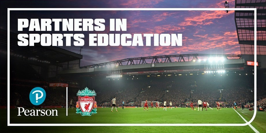 Liverpool Football Club and Pearson announce global partnership in sports education