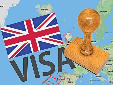 Ecco le nuove regole in vigore da Gennaio 2021 per ottenere il visto UK