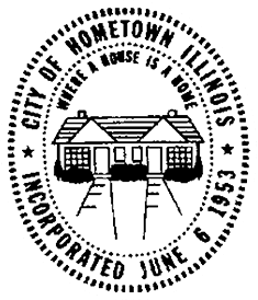 city of hometown illinois logo