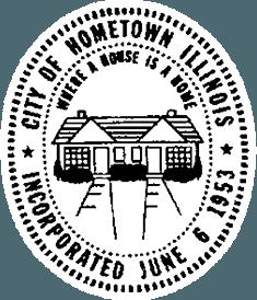 city of hometown illinois logo