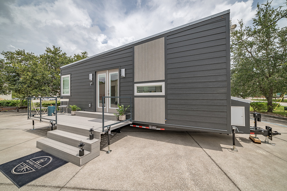 Tiny House with Deck