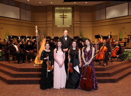 """Guest Youth Soloists Receive Standing Ovations at """"2019 Solos of Spring"""" Concert"""