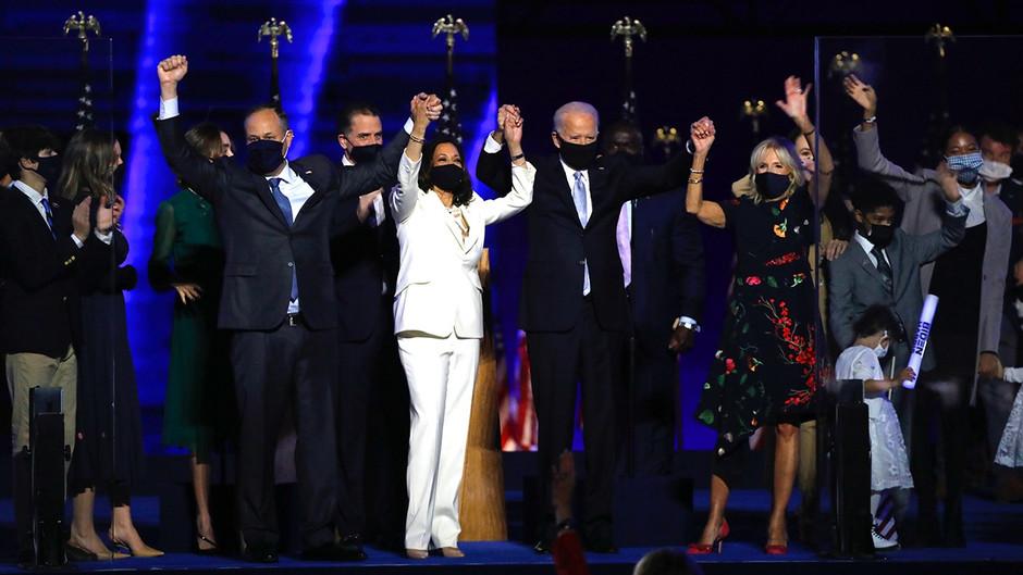 Biden Speaks on Unity, Trump Tweets on Corruption