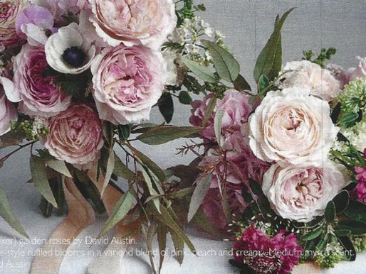 Garden Roses Featured in 2018 Wedding Floral Trends Forecast