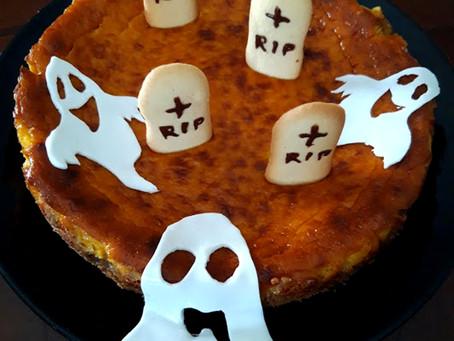Cheesecake alla Zucca Newyorkese: perfetta per Halloween