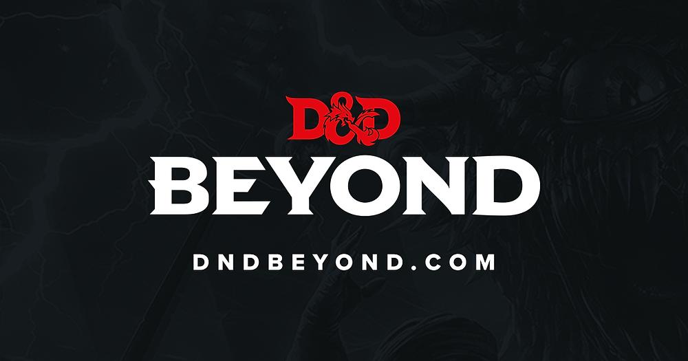 D&D Beyond logo text with dndbeyond.com written underneath